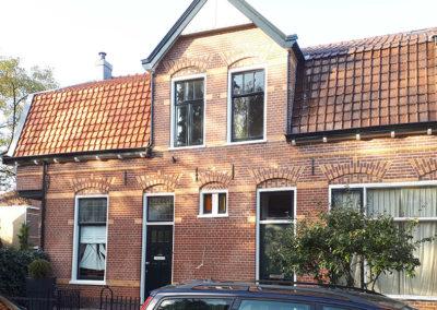 Gevel restauratie Rembrandtlaan Hilversum